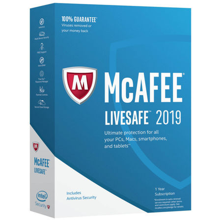 Picture of McAfee LiveSafe