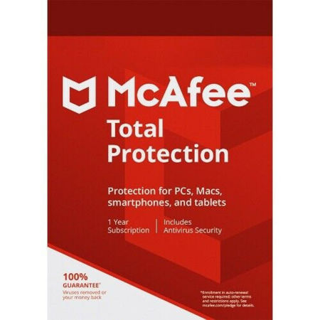 Picture of McAfee Total Protection
